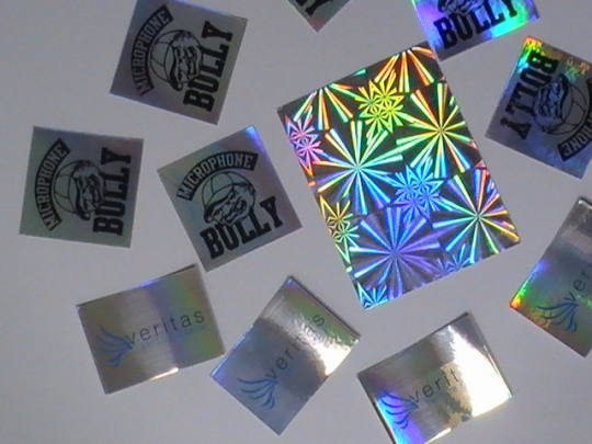 Metallic Stickers | Custom Metallic Stickers | Metallic Labels