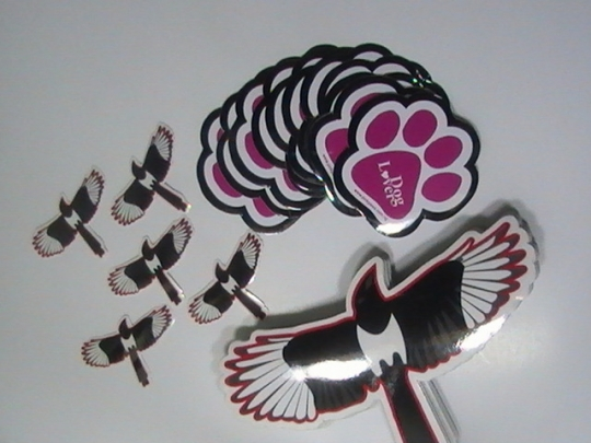 Die Cut Car Stickers
