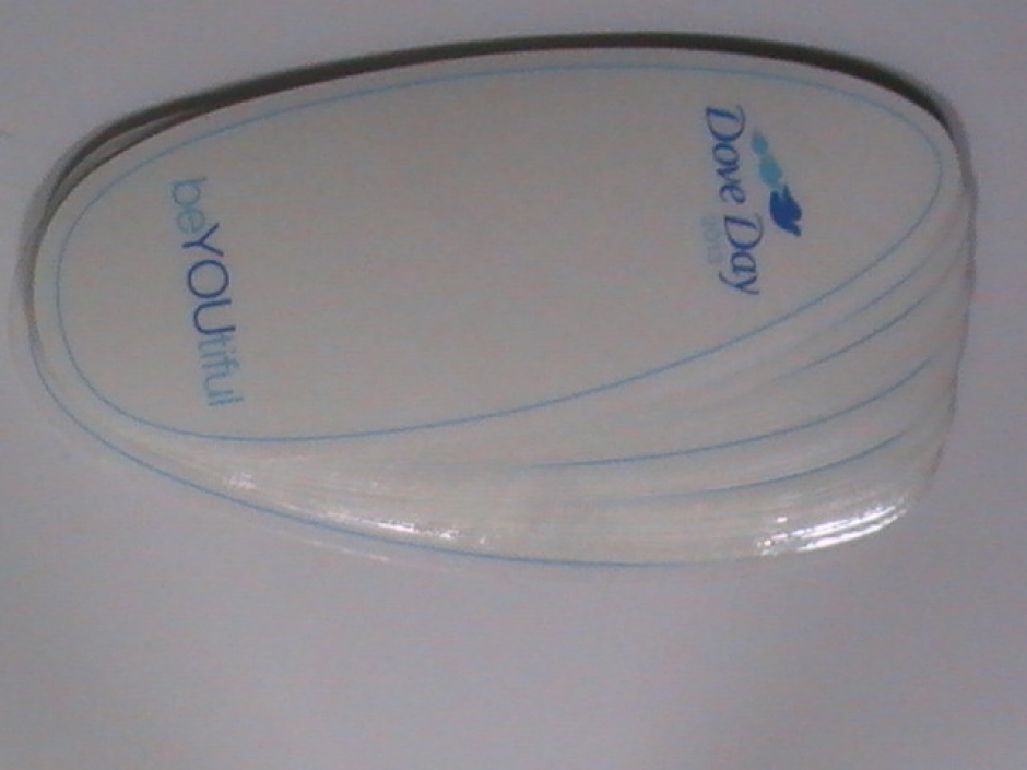 Oval Clear Vinyl Sticker