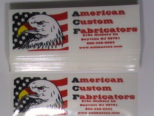 Rectangular Clear Vinyl Sticker